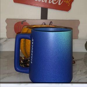 Starbucks blue ombré mug